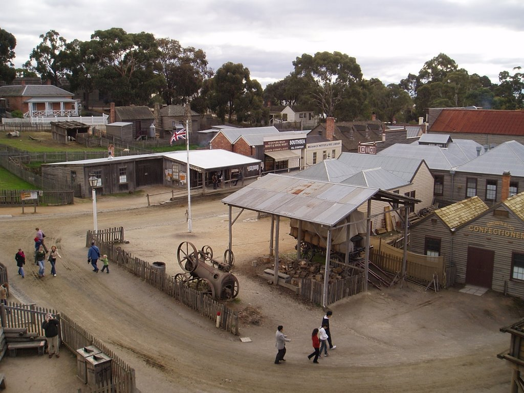 Sovereign Hill Ballarat Vic Australia