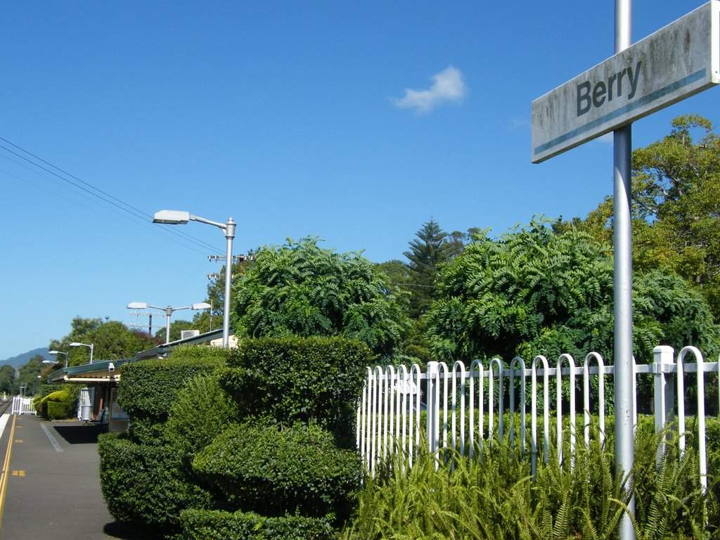Rail Station - Berry, NSW