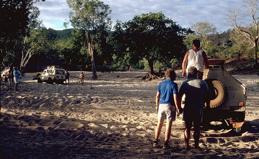 "Australia - Queensland - Cape York - Coen - ""Overnight Camp with lovley white Scorpions"" - 1993"
