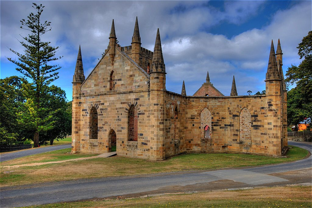 Port Arthur chapel.