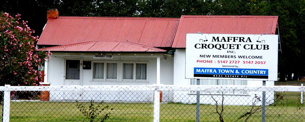 Crocquet Club - Maffra