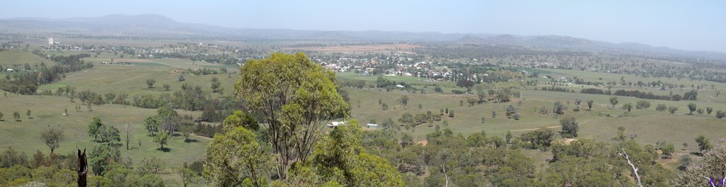Barraba from Adams Lookout