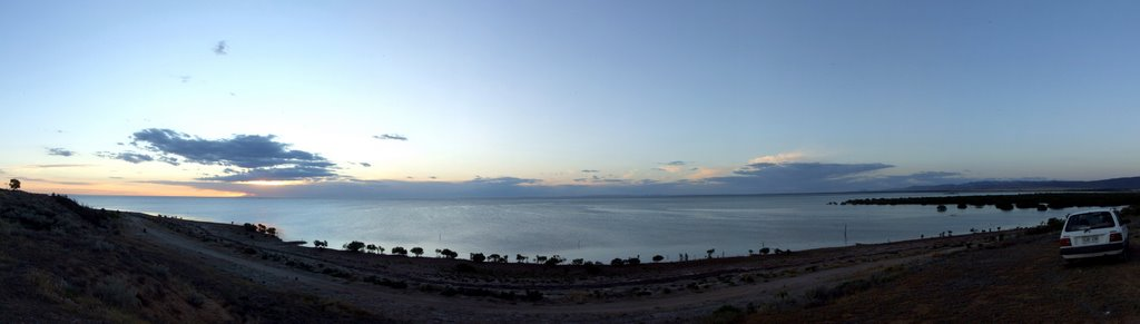 "Looking across to Whyalla from ""The Island"", Port Pirie"