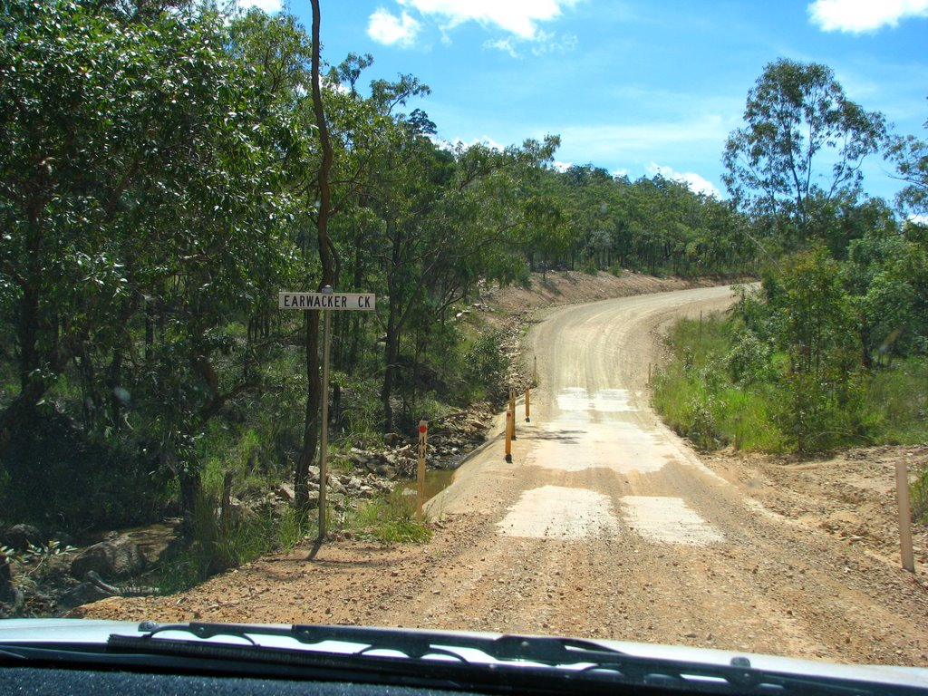 Earwacker Creek crossing on Herberton-Irvinebank Road