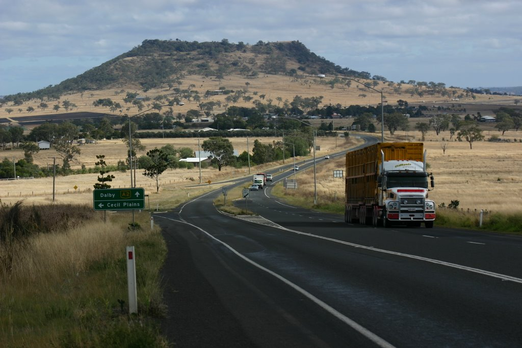 Gowrie Mountain / Road Train