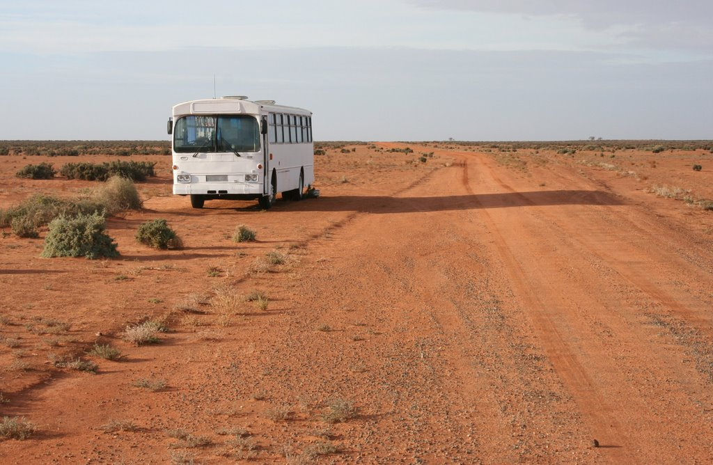 Empty - Sturt Highway east of Balranald