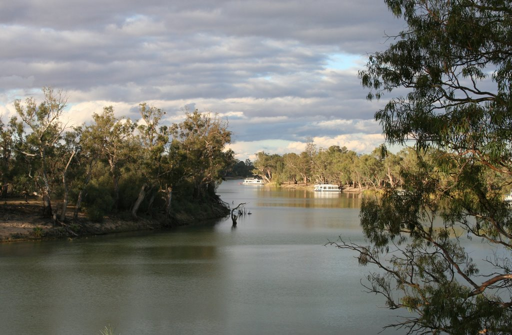 Murray river Merbein