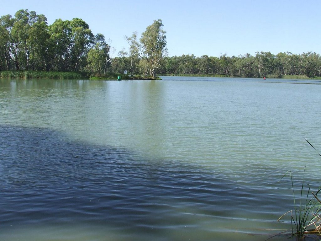 The place at which the Murray meets the Darling