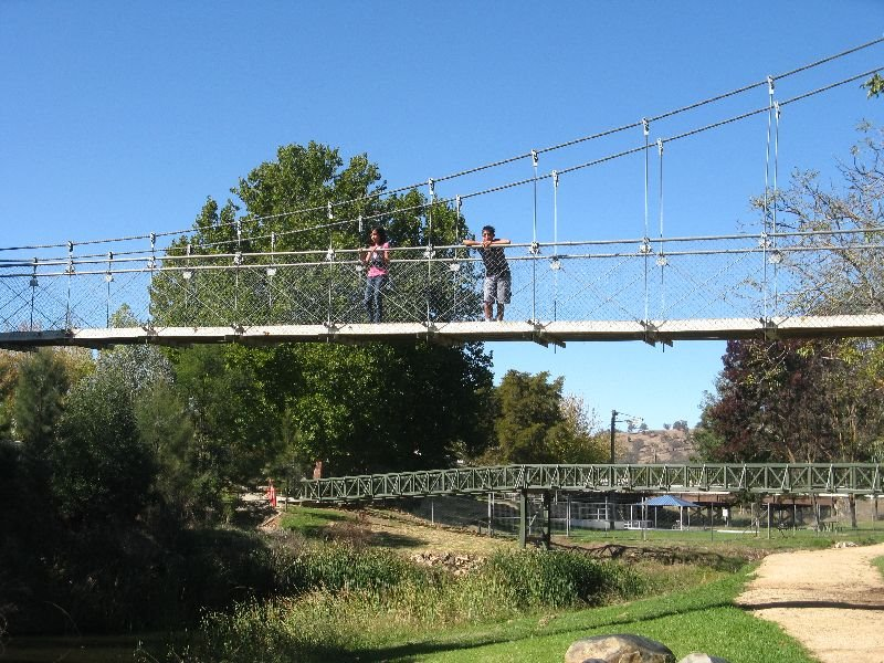 Adelong Suspense Bridge