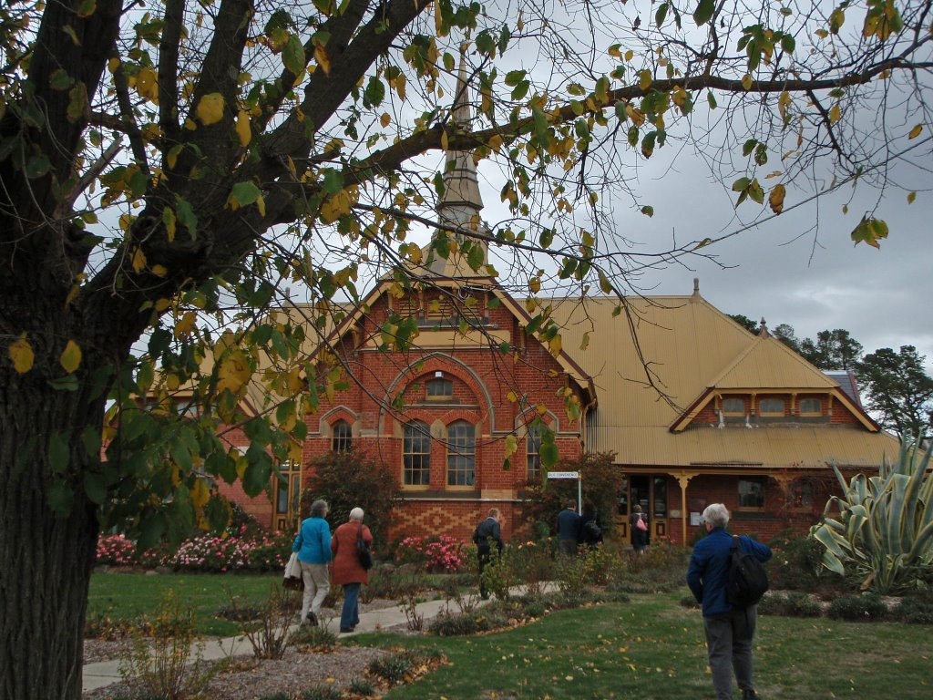Clunes- one of the architecturally most intact gold towns in Victoria.
