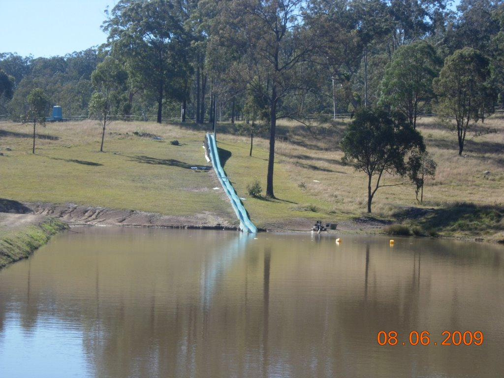 Water Slide at Rover Park