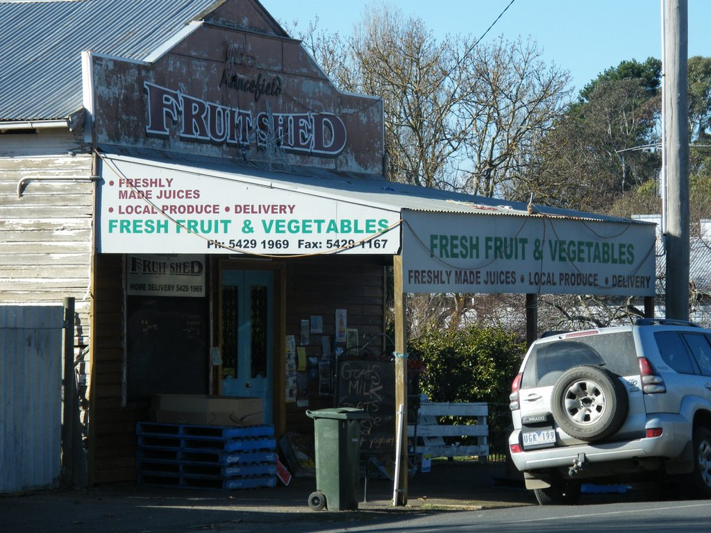 Lancefield Fruit Shed