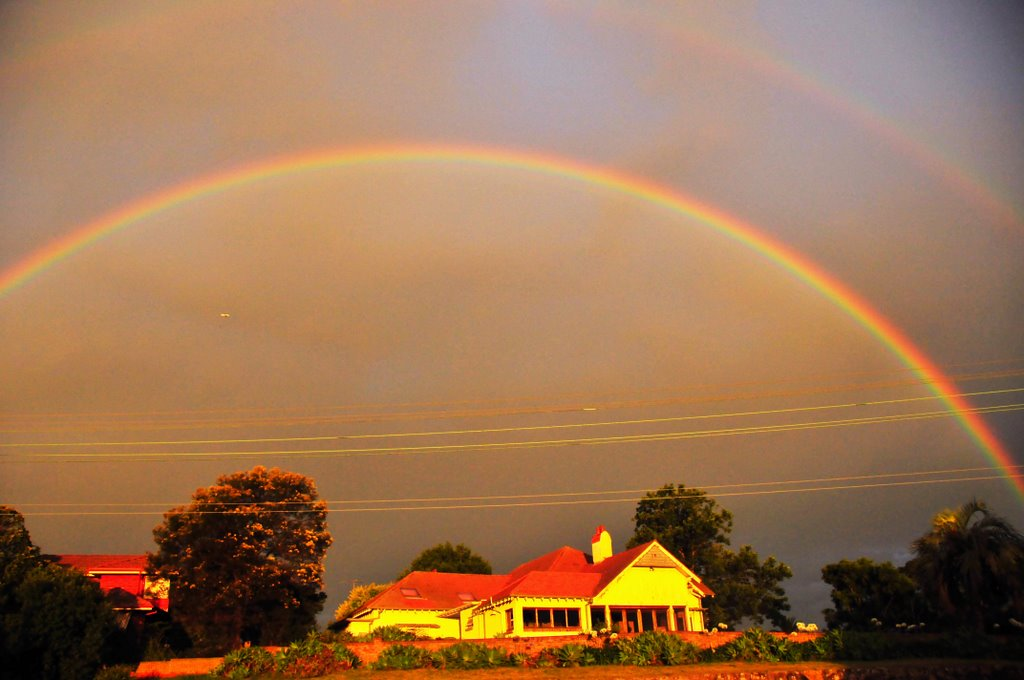 The House Under The Rainbow...