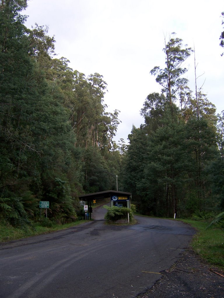 The old toll gates at Baw Baw