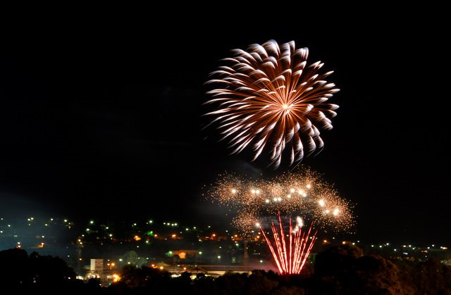 Warragul Showgrounds fireworks