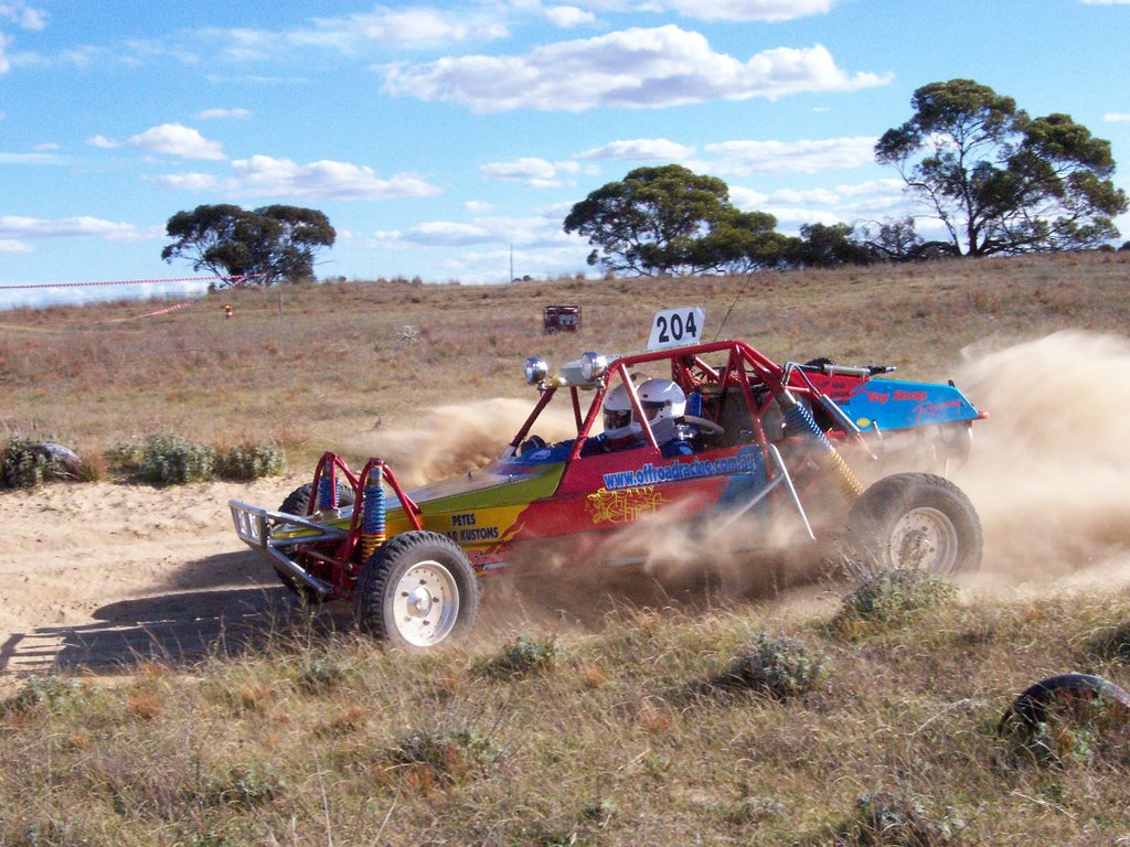 Buggy Racing At Wynarka Enduro
