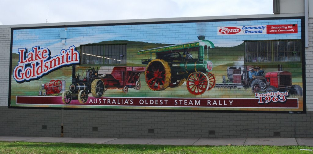 STEAM ENGINE MURAL