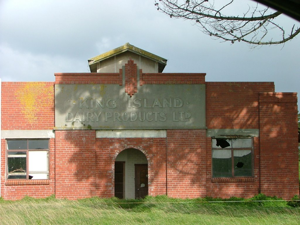 Old King Island dairy building