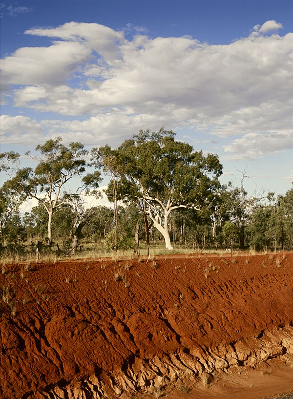Red Land, Capricorn Highway, Queensland, Australia
