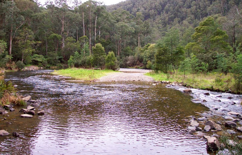 Coopers Creek crossing