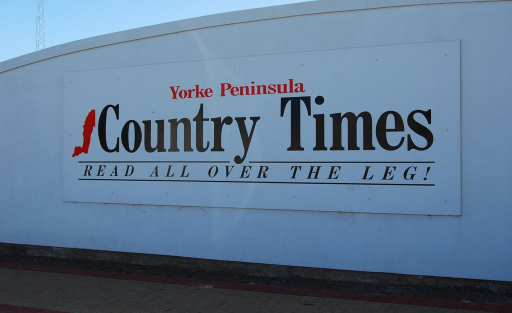 Yorke Peninsula Country Times: award-winning rural press