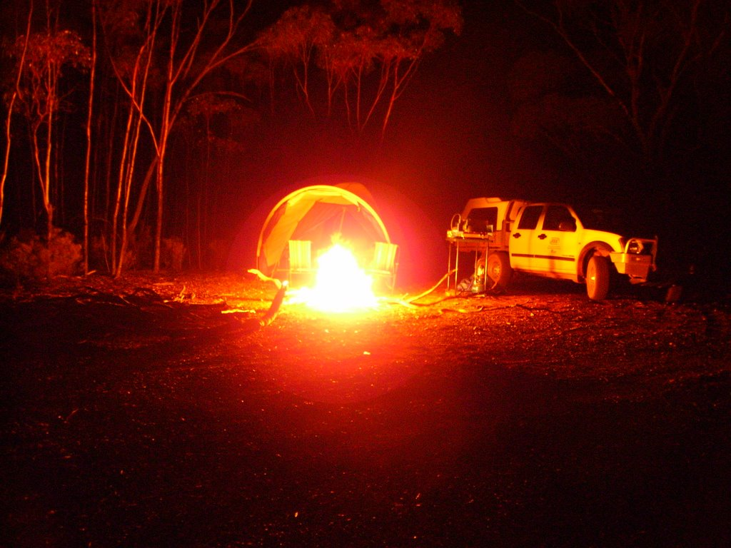 Bush Camp Near Davyhurst-How I like It