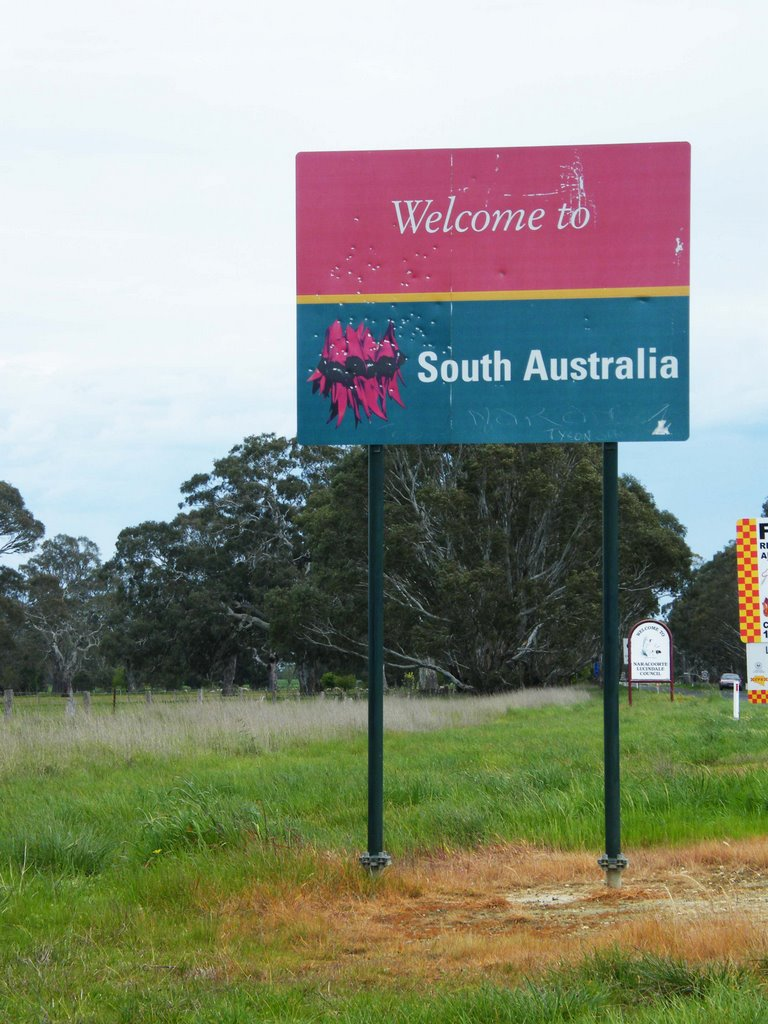 South Australian/Vicotrian State Border