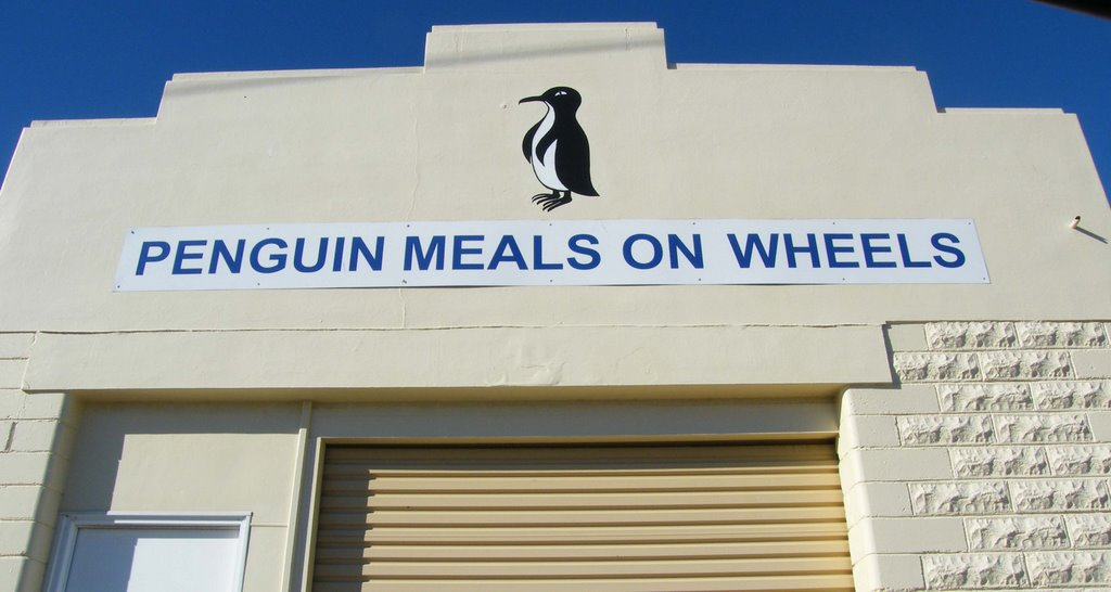 Penguin meals on wheels