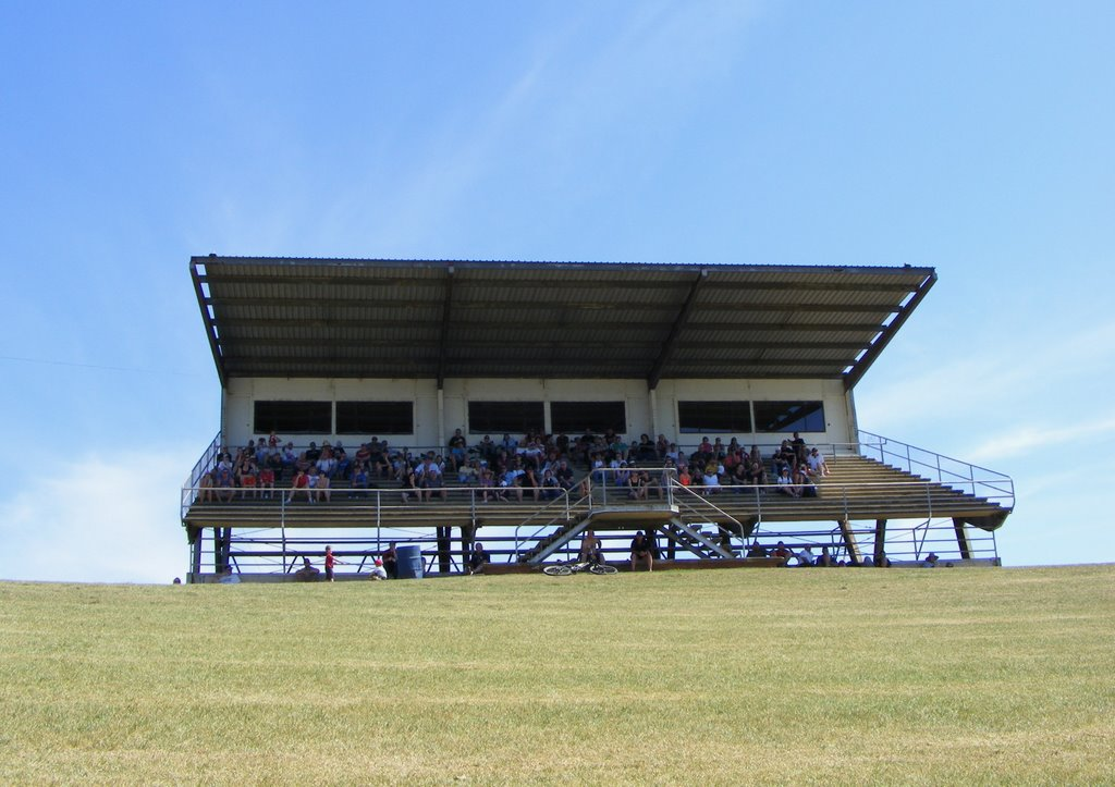 Spectator Stand at Oran Park Car Racing Circuit.