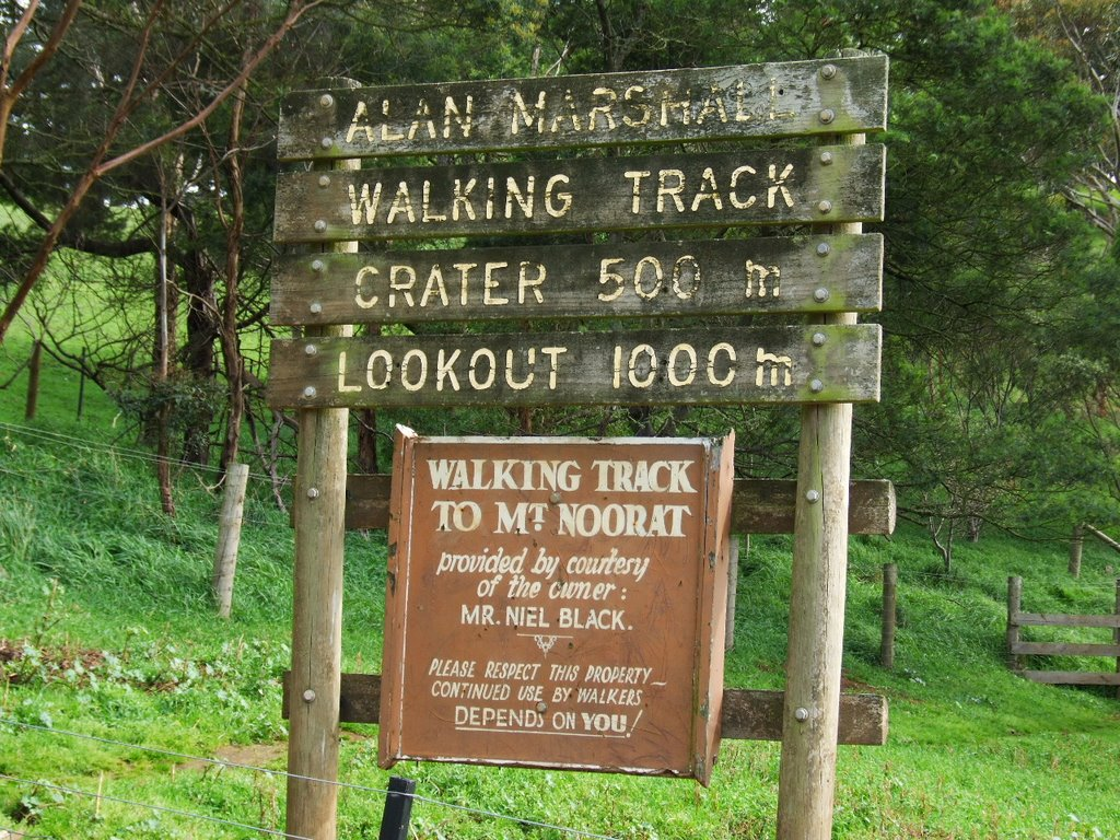 Welcome to Mt Noorat Walking Track