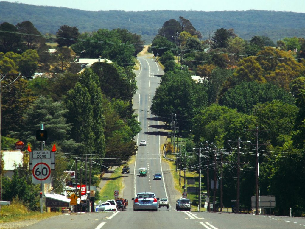 Malmsbury Main Drag (now bypassed)