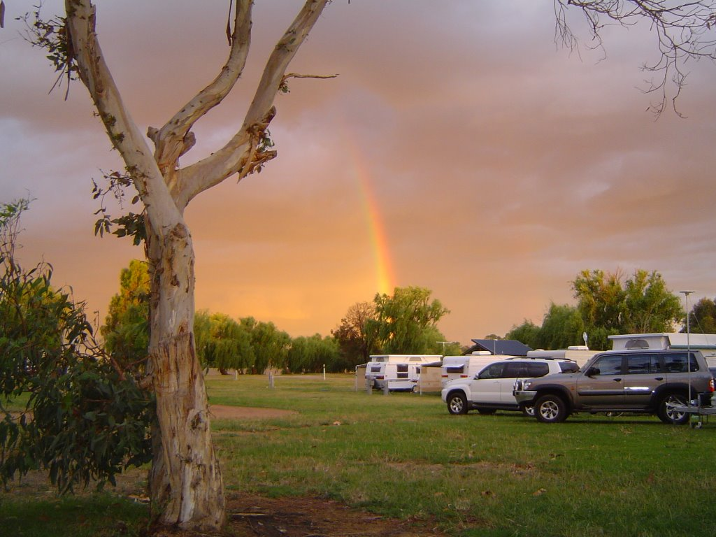 Nagambie CP during a storm Nov 2009
