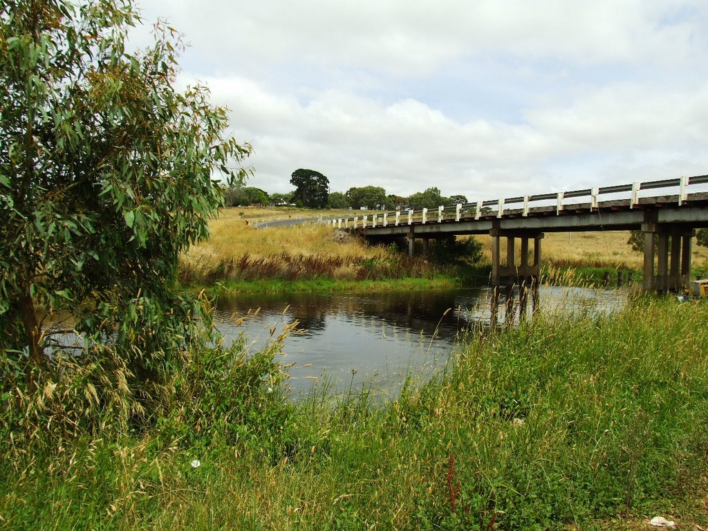Castle Carey Rd Bridge over Mt Emu Creek