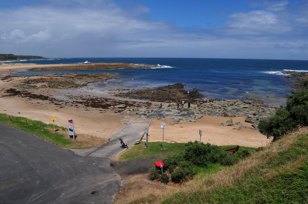 Cape Paterson ,beach , boatramp.
