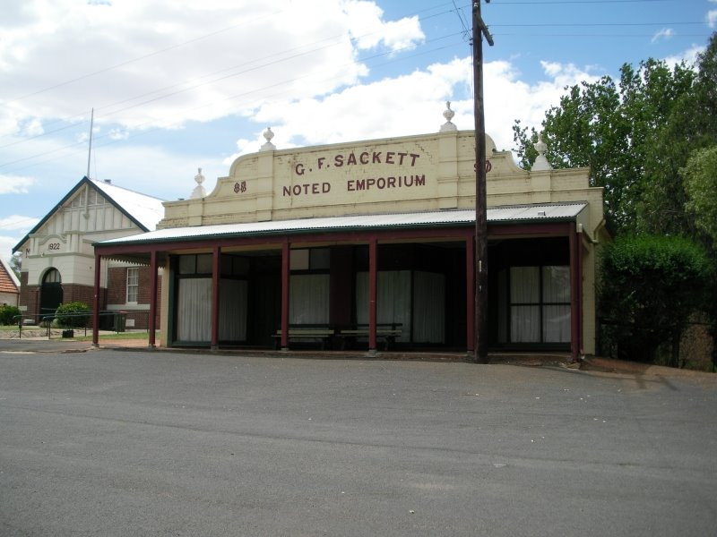 Sackett emporium King Street Wallendbeen
