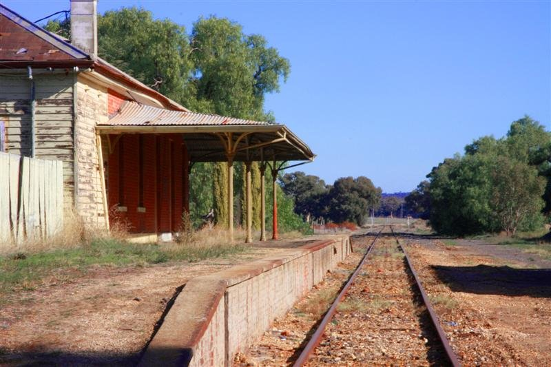 Carisbrook Train Station