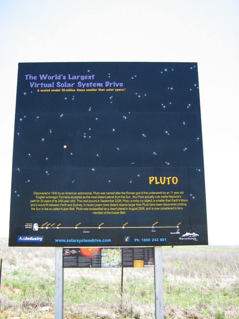 Pluto, Solar System drive