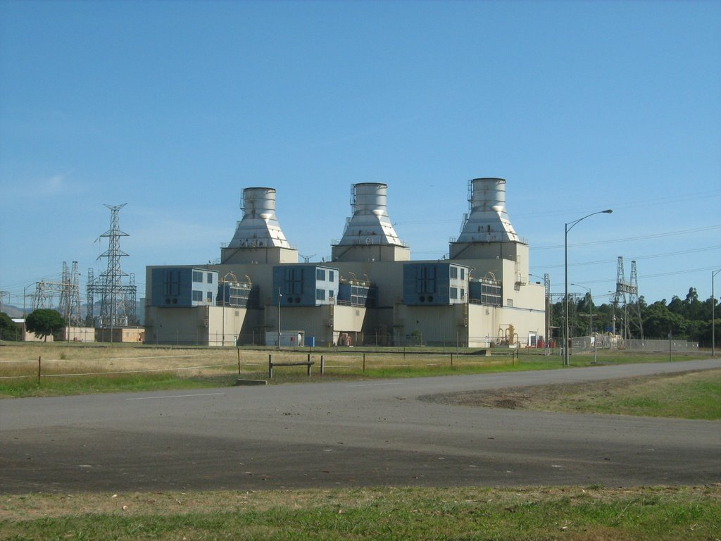 Jeeralang B Power Station near Morwell, Vic
