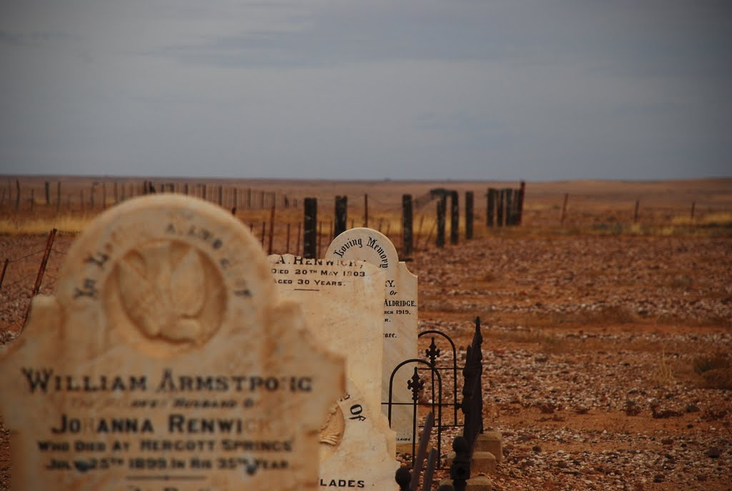 Marree Cemetery - The European Section