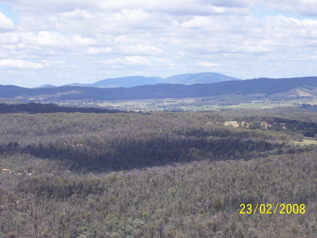 View from Mt Pilot