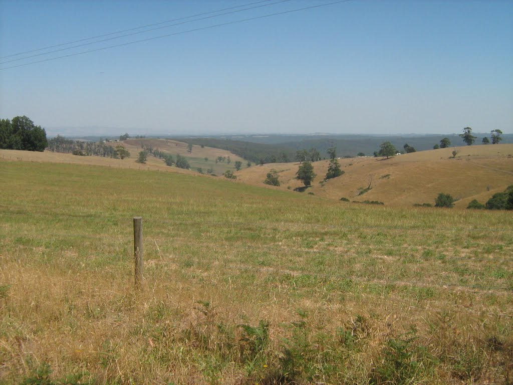 Hills near Willow Grove, Vic