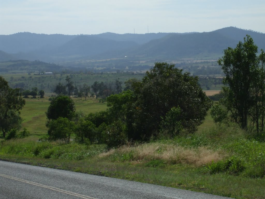 Bunya Mountains from near Bell
