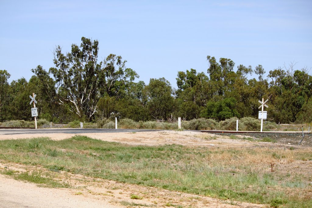 Moulamein Crossing...(end of the line)