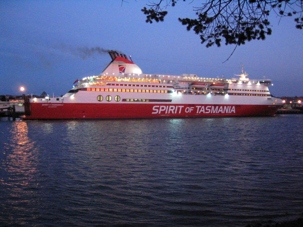 Spirit of Tasmania - Devonport
