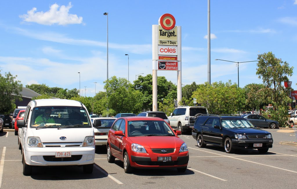 Palmerston Shopping Centre parking