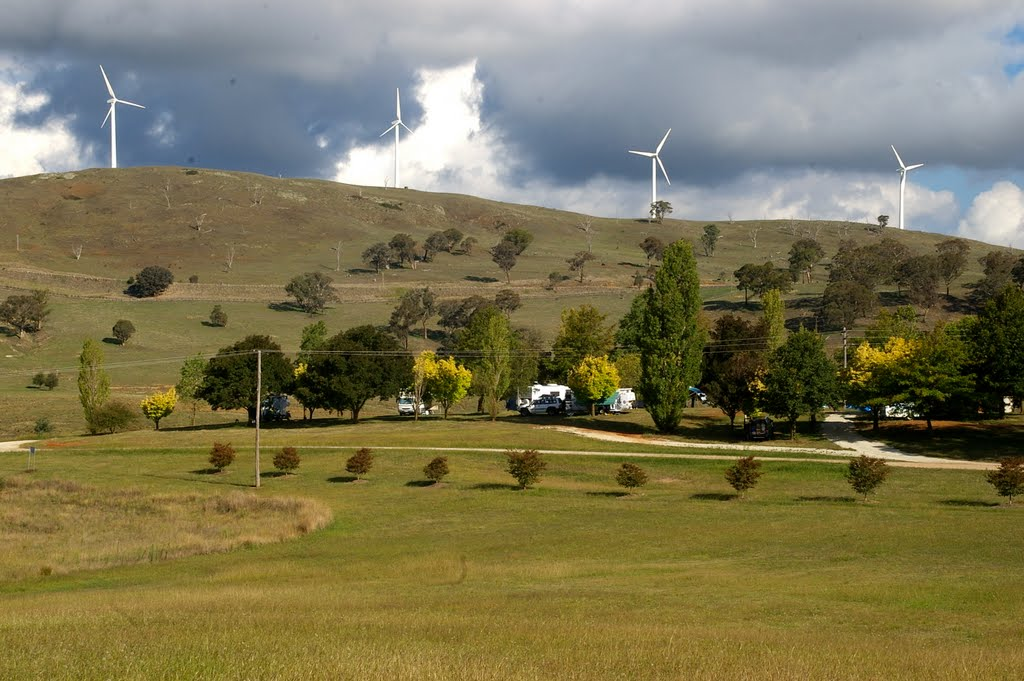 Carcoar Caravan Park and Windfarm