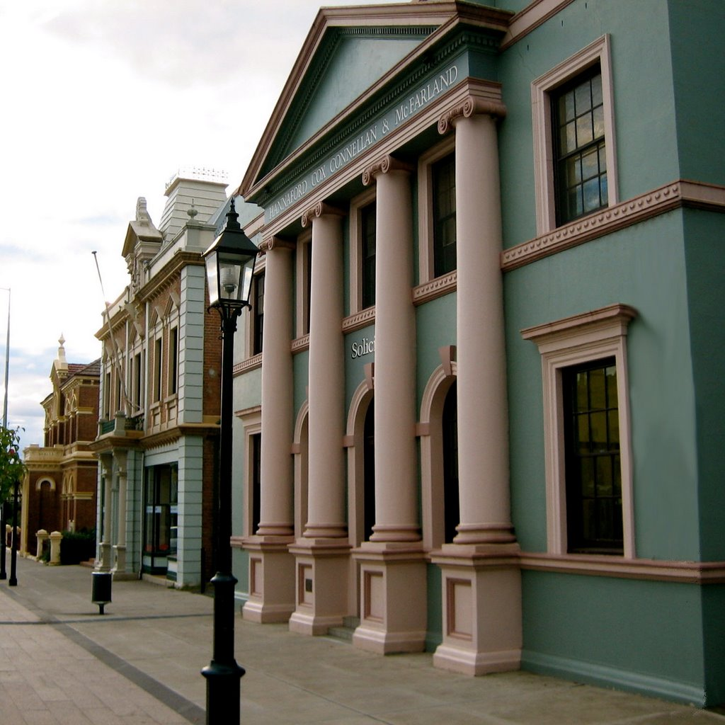 Heritage buildings, Mudgee