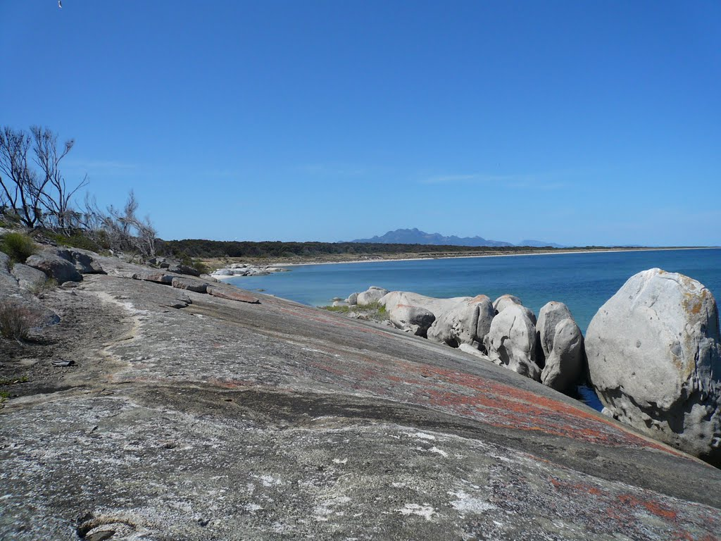 Bluerocks Flinders Island. ( My home )