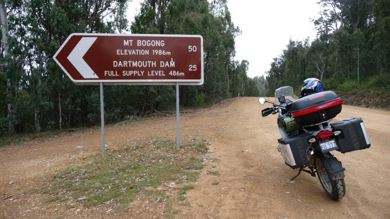 Omeo to Carryong at Mount Bogong Lookout