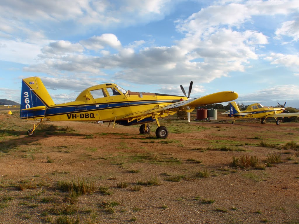 Crop Dusters at Stawell Airport